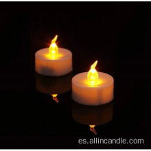 Venta al por mayor Tea Light Candle Color cambiando las luces led